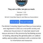 BCSARA App 2