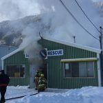 Sparwood SAR Hall Fire